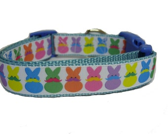 Mustach, Bunny , Easter Dog Collar, Dog Gift, Pet Gift, Easter, Spring, Jesus, Rabbit,