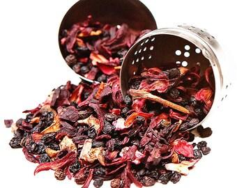Peach Island Fruit Tea - 100% Natural - Chinese Tea - Decaffeinated - Loose Leaf Tea - FREE Shipping