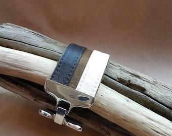 cotton vinyl women leather bracelet