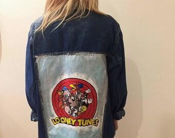 Zara jacke looney tunes