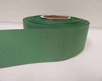 Grosgrain Ribbon 3mm 6mm 10mm 16mm 22mm 38mm 50mm Rolls, Fresh Sage Green, 2, 10, 20 or 50 metres, Ribbed Double sided,