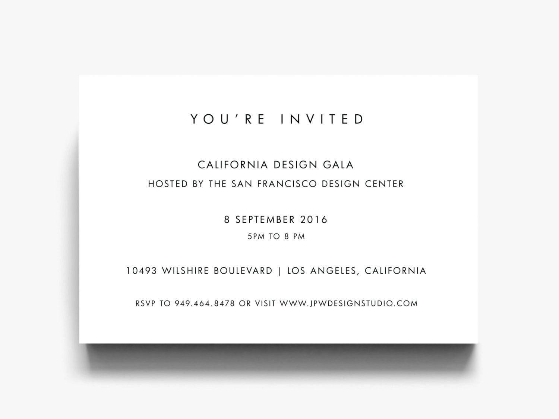 DIY Einladungen Einladung laden Vorlage geschäftliche