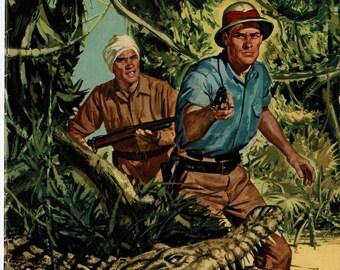 Jungle Jim - # 11 - 1957 - color comic