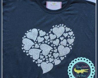 Heart TShirt, Cancer Awareness, Heart Shirt, Heart T Shirt, Heart TShirt, Heart Tee Shirt, Heart Tee, Heart Association, Ladies Plus Size