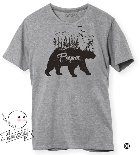 Papa Bear Matching Shirts Fathers Day shirt Daddy Baby Bear Cub T-Shirt Tee Infant Toddler Gift Ideas From Daughter Son Boy Girl Dad Poppa Wf0K12i2