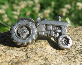 Tractor Lapel Pin - CC570- Agriculture and Farming Pins- Farm Party Favors- 4H
