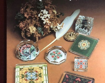 APRILSALE Vintage, 1981, Plain and Fancy Paperworks, June Grigg designs Book 10 Cross Stitch Patterns