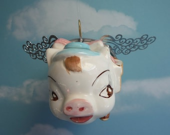 When Pigs Fly, Flying Pig, Vintage Bank