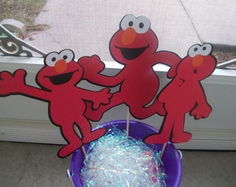 Cute Elmo Party Centerpiece