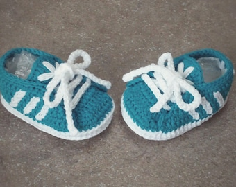 Newborn Adidas, crochet baby shoes, 100% cotton, baby shoes Adidas, crochet baby shoes, baby footwear, crochet Adidas, Adidas crochet