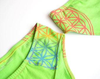 Flower of Life Women's Handmade Underwear - Recycled Cotton - Made to Order