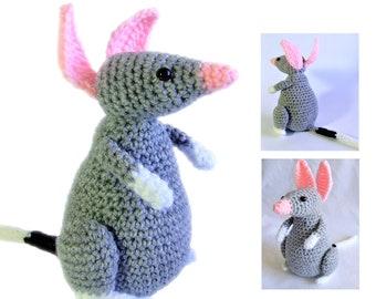 Bilby amigurumi crochet pattern PDF