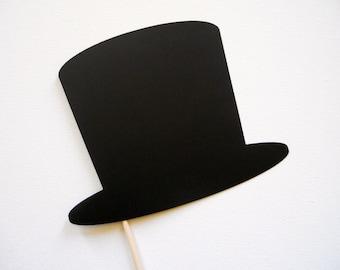 Top Hat Photo Booth Prop . Hat Photo Booth Prop . Photo Booth Props . Top Hat . Hat . Single