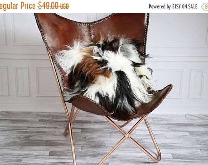 Icelandic Sheepskin Pillow |Decorative Pillows | Shaggy Pillow | Shaggy Cushion | Sheepskin Cushion |Sheepskin Pillow | Fur Pillow