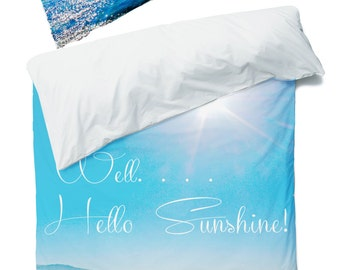 Order any image as a Duvet Cover - Beach Bedding - Beach Cottage Decor - Teen Room Decor - Beach Dorm Room