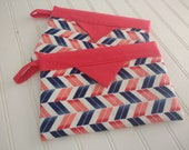 Snap Bag - Chevron