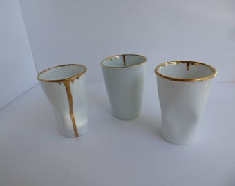 "Gold rimmed cup ""crushing on you"""