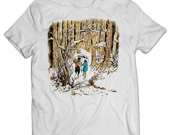 The Chronicles of Narnia Lucy and Mr. Tumnus T-shirt