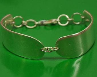 Vintage Pate Knife Bracelet, Silverware Jewelry