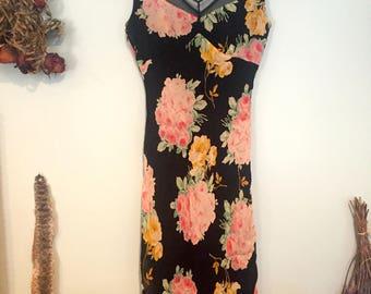 Betsey Johnson Tea Dress, 90s does 40s
