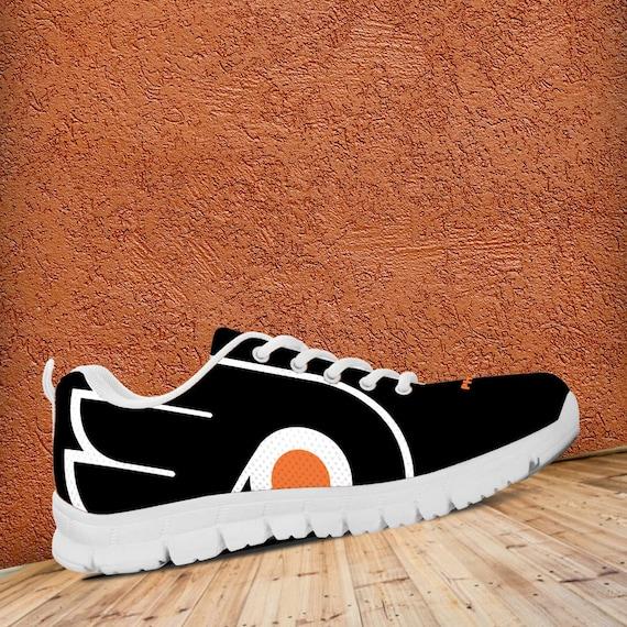 fan gift Ladies Unofficial Kids Flyers Philadelphia collector Sneakers Trainers Fan Custom Shoes Sizes Mens HPWpZ0