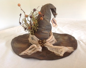 Olde Primitive Witch's Hat