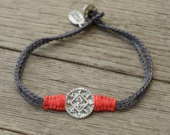 Positive Changes Solomon Seal Charm Bracelet