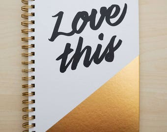 Journal - Love this - Spiral Bound by American Crafts
