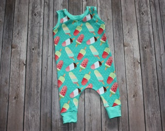 Baby Romper,Summer Baby Romper,Summer Outfit,Toddler Romper,Tank Romper,Hipster Baby Outfit,Newborn Romper,Baby Girl Romper,Baby Romper Suit