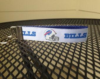Buffalo Bills Inspired Keychain Wristlet
