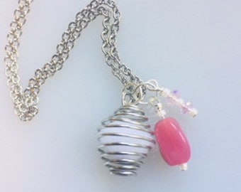 Cage Style Diffuser Necklace