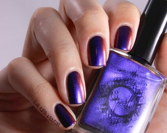 SPELL POLISH Magichromes™: Magic Happens ~Chasing Our Shadows~ multichrome nail polish!