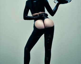 Latex Thong Kylie Jenner