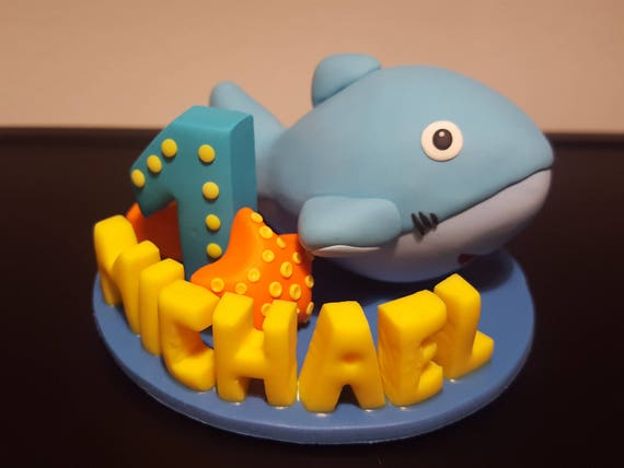 Dolphin cake topper Dolphin figurine Dolphin birthday cake topper