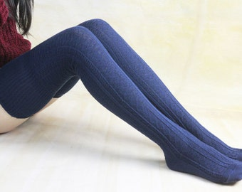 Winter Thigh High Socks Legwear Knit High Boot Socks Thigh High Knit Socks Knee Socks For Womens Boot Socks