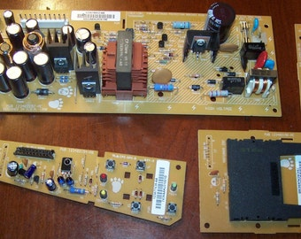 Repurpose Supply of Circuit Board Pieces Asst #1 ~ Parts ~ Circuit Boards ~ Assemblage ~ Robot Parts ~ Crafts