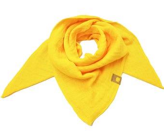 Scarf, burb, scarf, triangular cloth, muslin