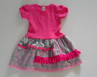 T-shirt Dress, Girls Dresses, Toddler Dresses, Size 3T