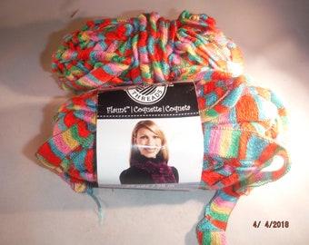 Flaunt yarn by Loops & Threads -- Spring Fling -- KCDestash
