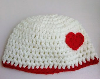 Crochet infant toddler hat