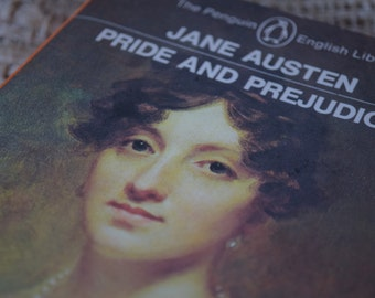 Pride and Prejudice. Jane Austen. A Penguin Paperback Book. 1982