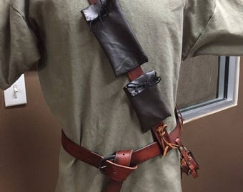 Ranger Belt with Pouches