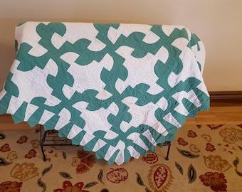 Vintage Green quilt