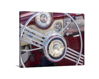 Buick Picture, Buick Skylark Car Art, Vintage Buick, Classic Buick, Automotive Art, Automobile Art, Buick Gift, Mid Century Buick Photograph