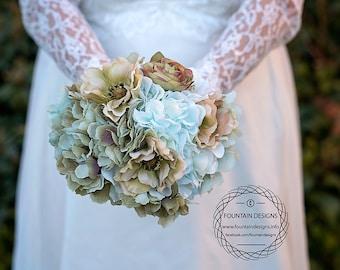 Pale vintage bouquet. Premium