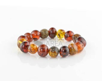 Baltic Amber Bracelet Adults // 7271