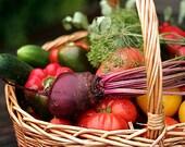 Autumn Garden Kit, 4000 heirloom seeds, 9 cool weather veggies, peas, beets, basil, lettuce, onions.  Easy peasy.