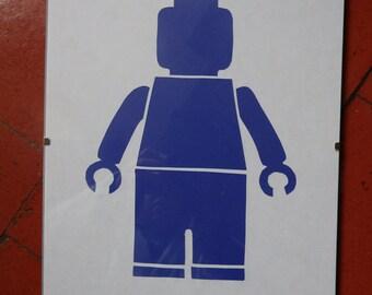 Lego Minifigure Paper Cutting