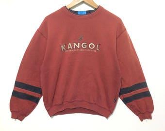Vintage 90's Kangol Kanggaroo Jumper Medium Size