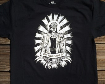 What would Lemmy Do Men's T-shirt by Seven 13 Productions Motorhead Ace of Spades Iron Horse Kilmister War Pig